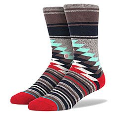 Носки средние Stance Sidestep Foundation Laredo An Grey Heather