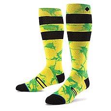 Носки высокие Stance Snow Burner Yellow