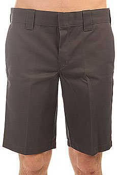 Шорты классические Dickies 11 Inch Slim Straight Work Short Charcoal Grey