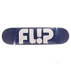 Дека для скейтборда Flip S6 Team Odyssey Stencil Blue 31.5 x 8.0 (20.3 см)