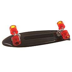 Скейт мини круизер Flip S6 Banana Board Black/Red Cruzer 6 x 23.25 (59 см)