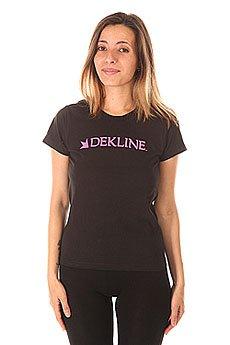 Футболка женская Dekline Bar Black
