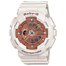 Электронные часы женские Casio Baby-g Ba-110ga-7a1 White