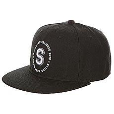 Бейсболка с прямым козырьком Skills 05 Black