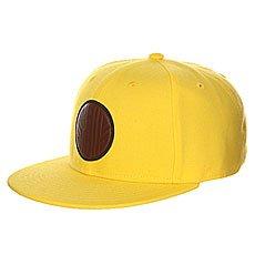 Бейсболка с прямым козырьком Skills 04 Yellow