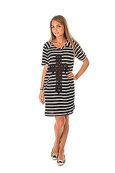 Платье женское Emblem Dress Line E26 Black/White