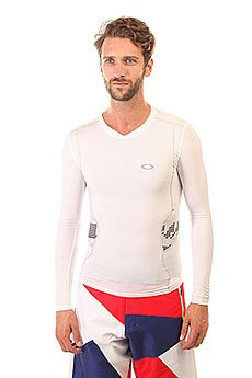 Термобелье (верх) Oakley Compression Ls Top White
