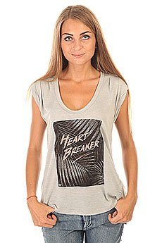 Футболка женская Roxy Barrelbreaker J Tees Heritage Heather