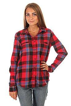 Рубашка в клетку женская Roxy Campay J Wvtp Moon Plaid Combo Sca