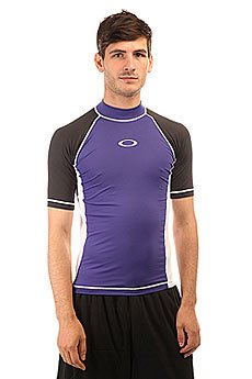 Термобелье (верх) Oakley Ellipse Ss Rashguard Spectrum Blue