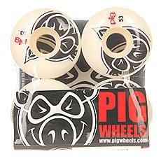 Колеса для скейтборда Pig Head Natural 53 mm
