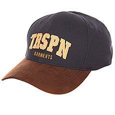 Бейсболка классическая TrueSpin Round Visor Trspn Fleece 02 Navy