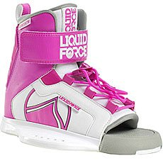 Крепления для вейкборда женские Liquid Force Dream Pink/White