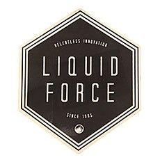 Наклейки Liquid Force Diamondz Black