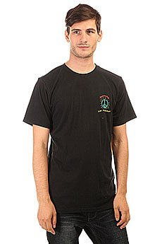 Футболка Quiksilver Livepeacefully Black