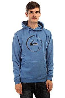 Толстовка кенгуру Quiksilver Big Logo Hood Star Sapphire