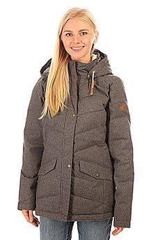 Куртка зимняя женская Roxy Nancy Jk Charcoal Heather