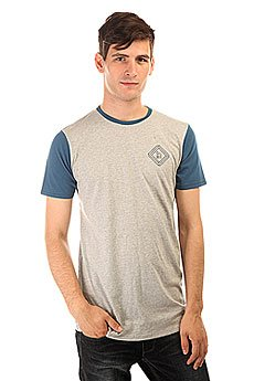 Футболка Globe Block Tall Tee Grey Marle