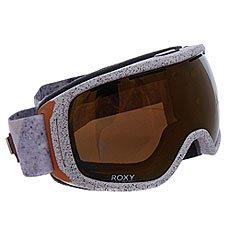 Маска для сноуборда женская Roxy Rockferry Frozen Mountain Heat