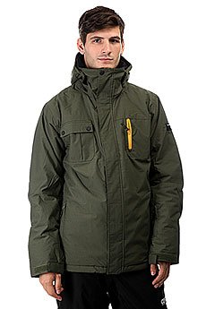 Куртка Quiksilver Mission Solid Forest Night