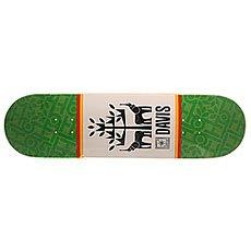Дека для скейтборда Toy Machine Davis Seminal Green/White 31.75 x 8.5 (21.6 см)