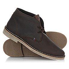 Ботинки высокие Wrangler Churlish C.h. Fur Dark Brown