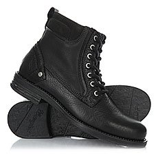 Ботинки высокие Wrangler Cliff Black