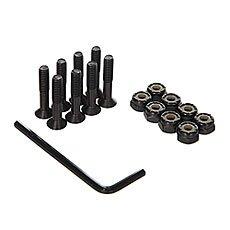 Винты для скейтборда Юнион Black/Green Allen 1 (8 x Pack)