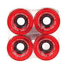 Колеса для лонгборда Eastcoast Shelby Clear Red 78A 65 mm