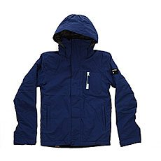 Куртка детская Quiksilver Mission Solid Sodalite Blue