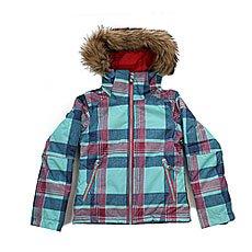 Куртка детская Roxy Jetty Ski Daya Plaid Blue Radi