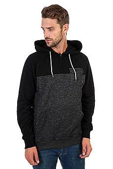Толстовка кенгуру Billabong Balance Half Zip Hoo Black Heather