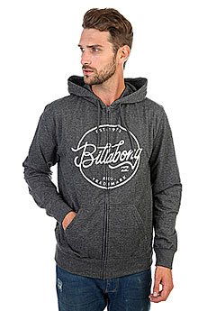 Толстовка кенгуру Billabong Sloop Zh Dark Grey Heath