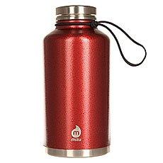 Бутылка для воды Mizu V20 Red Hammer Paint Le Drip