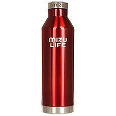 Бутылка для воды Mizu V8 Red Steel Le