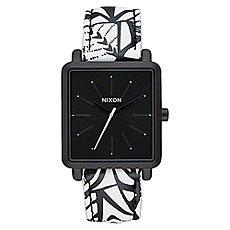 Кварцевые часы женские Nixon K Squared Black/Bleach