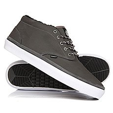 Кеды утепленные Element Preston Charcoal/Black