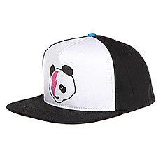 Бейсболка с прямым козырьком Enjoi Stardust Panda Trucker Cap Black/Blue