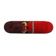 Дека для скейтборда Toy Machine Monster Medium Red/Burgundy 31 x 7.75 (19.7 см)