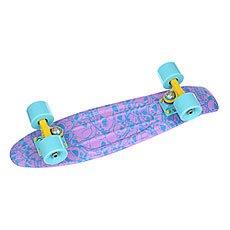 Скейт мини круизер Union Plum Skulls Purple/Light Blue 6 x 22.5 (57.2 см)