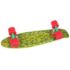 Скейт мини круизер Union Jah Ganjah Yellow/Green 6 x 22.5 (57.2 см)