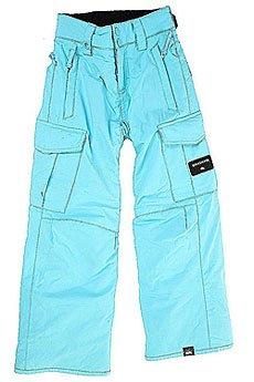 Штаны сноубордические детские Quiksilver Porter Bluefish