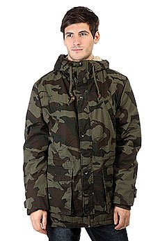 Куртка парка Billabong Stafford Parka Jungle Camo