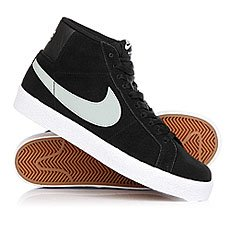 Кеды высокие Nike Blazer Sb Premium Base Grey/Black/White