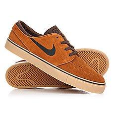 Кеды низкие Nike Zoom Stefan Janosti Hzlnt/Black-brq Brown Gum Light Brown