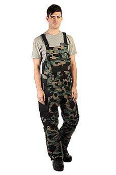 Комбинезон сноубордический DC Platoon Bib Camouflage Lodge