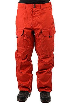 Штаны сноубордические DC Code Ketchup Red