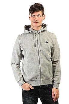 Толстовка классическая Le Coq Sportif Circulom Fz Hood Light Heather Grey
