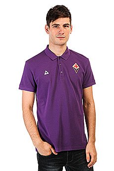 Поло Le Coq Sportif Fiorentina Tenue Pres Players Violet