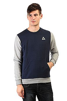 Толстовка кенгуру Le Coq Sportif Helior N°2 Dress Blues/Ligh